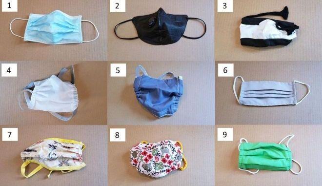 Κορονοϊός: Έρευνα για τις μάσκες - Ποιες προστατεύουν και ποιες είναι επιβλαβείς