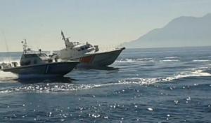 Τουρκικά σκάφη παρεμπόδισαν πλωτό του λιμενικού ανοιχτά της Μυτιλήνης