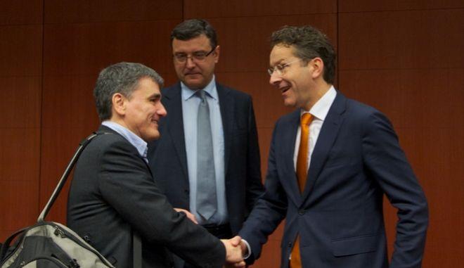 Συνεδρίαση του Eurogroup την Πέμπτη 14 Ιανουαρίου 2016, στις Βρυξέλλες. (EUROKINISSI/ΕΥΡΩΠΑΪΚΗ ΕΝΩΣΗ)