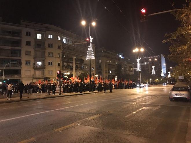 Πορεία διαμαρτυρίας στο κέντρο της Αθήνας για την Ιερουσαλήμ