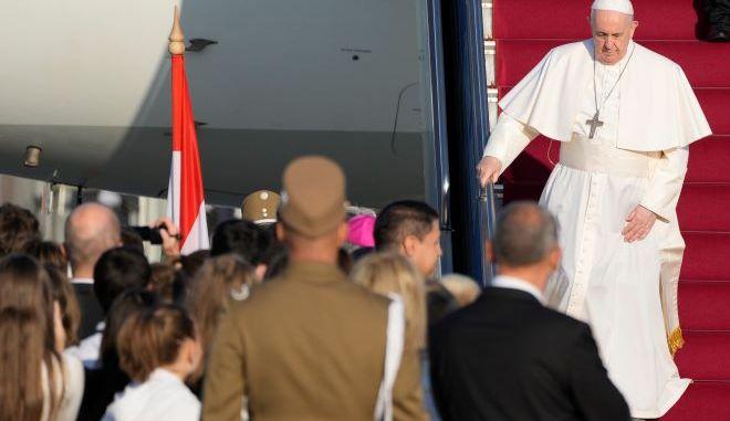 Ο πάπας Φραγκίσκος στην Βουδαπέστη