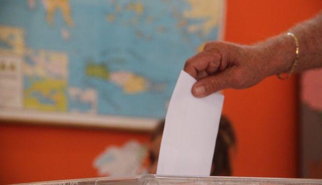 Στιγμιότυπο από τις εθνικές εκλογές