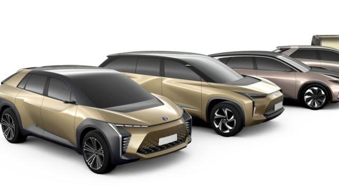 """Η Toyota θα """"ρίξει"""" στην αγορά 10 πλήρως ηλεκτρικά οχήματα"""