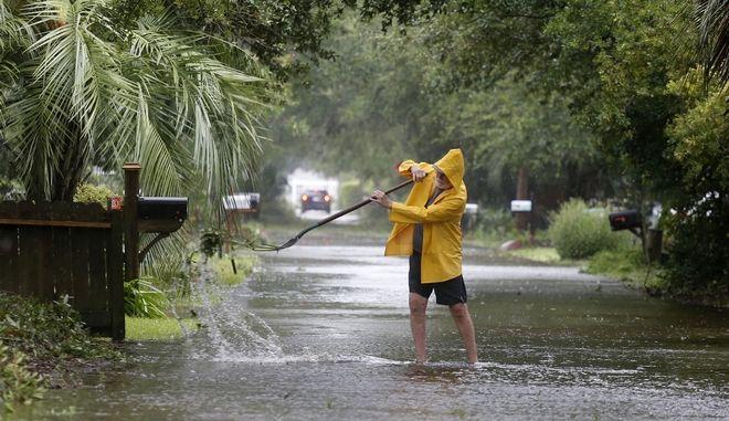Αντιμέτωπες με τον κυκλώνα Ολανάσκα οι αρχές σε Τέξας και Οκλαχόμα. (AP Photo/Mic Smith, File)