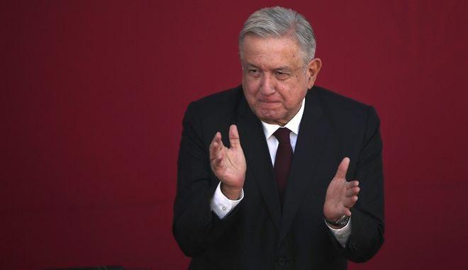 Αντρές Μανουέλ Λόπες Ομπραδόρ, ο πρόεδρος του Μεξικού