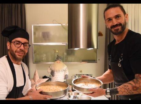 Ο Γιώργος Μαζωνάκης μας μαθαίνει να φτιάχνουμε βασιλόπιτα ... 888fd1f60c0