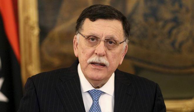Ο πρωθυπουργός της κυβέρνησης της Τρίπολης, Φαγέζ αλ Σαράζ