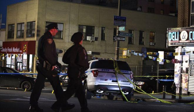 Το σημείο στο Μπρούκλιν όπου έπεσε νεκρός ο 34χρονος Σαχίντ Βάσελ