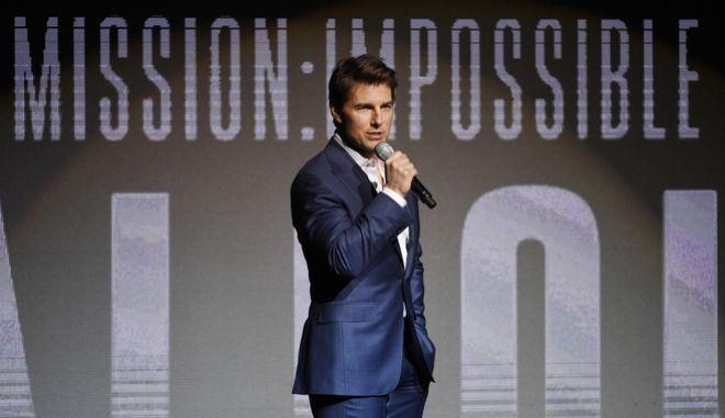 Ο Τομ Κρουζ σε CinemaCon στο Las Vegas στο πλαίσιο προώθησης της ταινίας