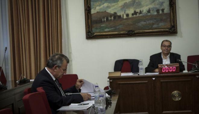 Πλάνο από τη συνεδρίαση της επιτροπής