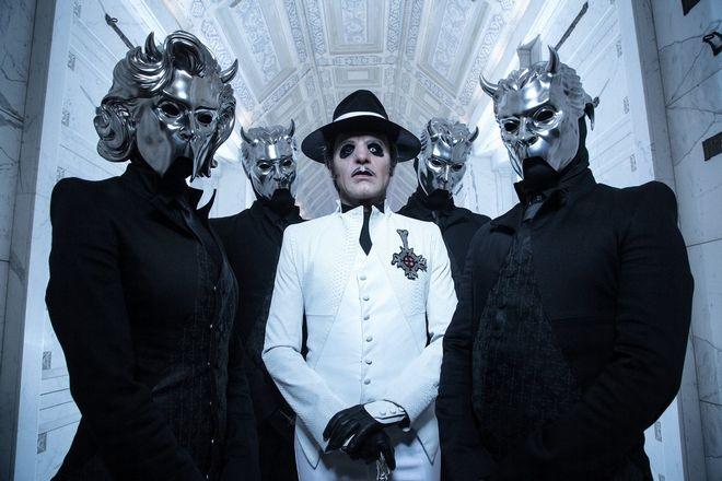 Το σουηδικό συγκρότημα Ghost