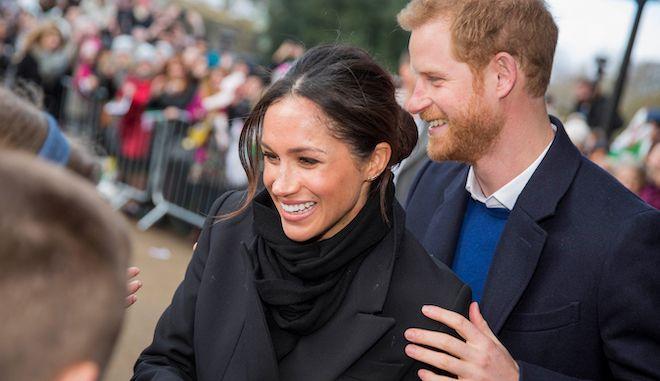 Πρίγκιπας Χάρι και Μέγκαν Μάρκλ, 18 Ιανουαρίου 2018