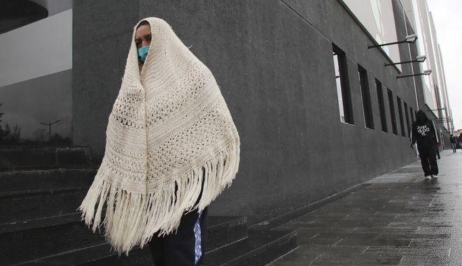 Εκουαδόρ, Γυναίκα φτάνει σε νοσοκομείο