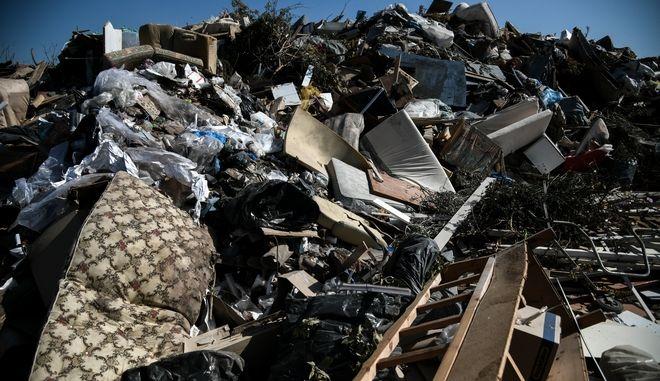 Παρέμβαση της ΠΟΕ - ΟΤΑ σε παράνομη χωματερή στον δήμο Γλυφάδας την Τετάρτη 23 Οκτωβρίου 2019. (EUROKINISSI/ΜΙΧΑΛΗΣ ΚΑΡΑΓΙΑΝΝΗΣ)