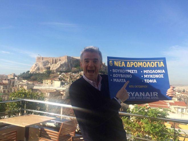 Ryanair: Από ποια ελληνικά αεροδρόμια απειλεί ότι θα φύγει