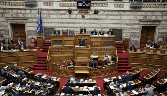 Συζήτηση και ψήφιση του φορολογικού νομοσχεδίου.
