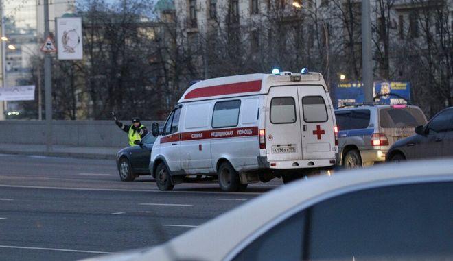 Ασθενοφόρο στη Ρωσία (Φωτο αρχείου)