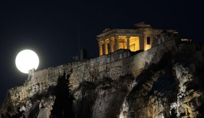 Πανσέληνος στην Αθήνα