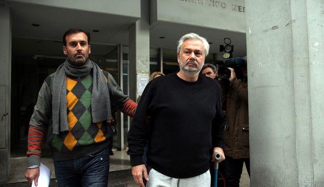ΠΕΙΡΑΙΑΣ-Συνελήφθη σε ξενοδοχείο της Γλυφάδας ο επιχειρηματίας Γιάννης Καρούζος.(EUROKINISSI-ΓΕΩΡΓΙΑ ΠΑΝΑΓΟΠΟΥΛΟΥ)