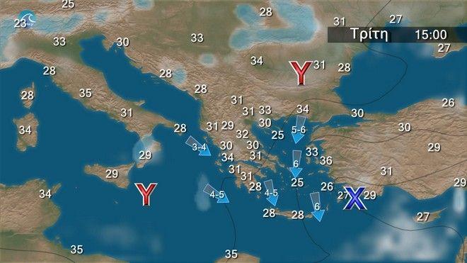 Επιμένει η κακοκαιρία: Ισχυρή καταιγίδα στην Αττική