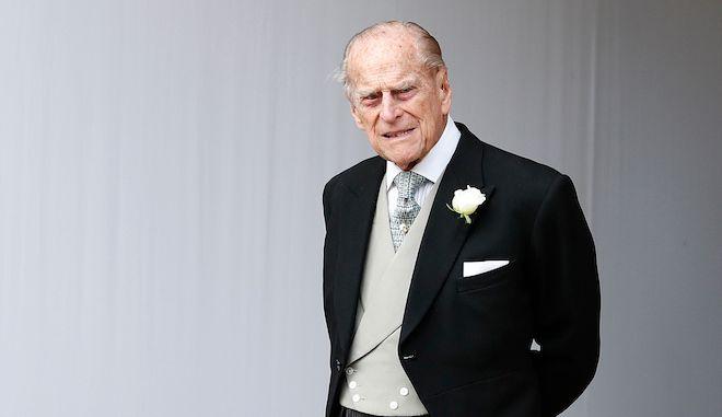 Ο Πρίγκιπας Φίλιππος στο Κάστρο του Γουίντσορ, 12 Οκτωβρίου 2018