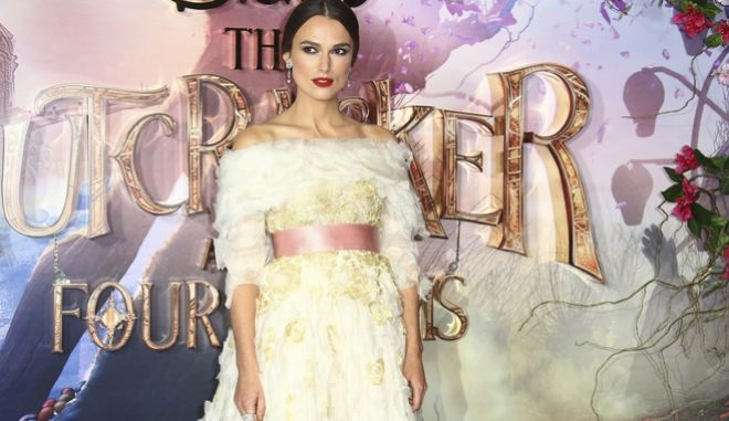 Η Keira Knightley ποζάρει για την ταινία 'The Nutcracker and the Four Realms'