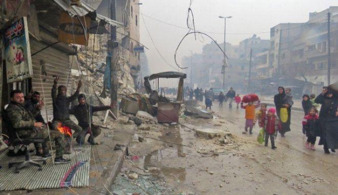 Χαλέπι: Αγωνία για τους 50.000 αμάχους