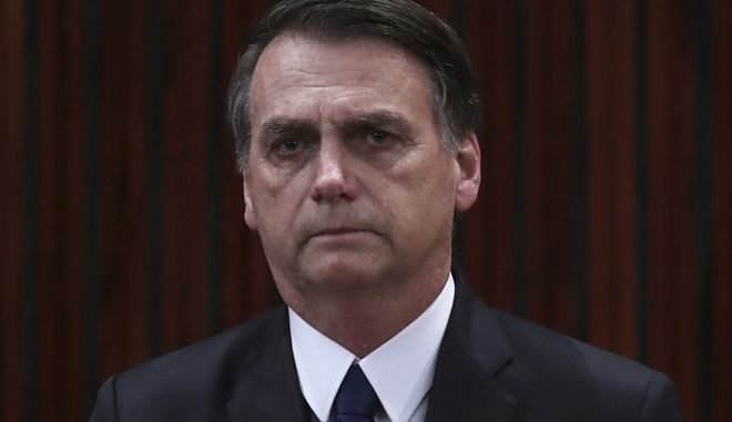 O πρόεδρος της Βραζιλίας Ζαΐχ Μπολσονάρου