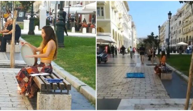 """Θεσσαλονίκη: Συνέλαβαν μουσικό του δρόμου για """"επαιτεία"""" - Οργή Ζερβουδάκη"""