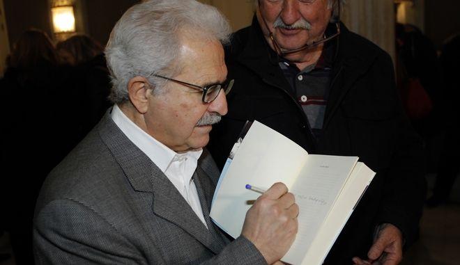 Ο Μίμης Ανδρουλάκης