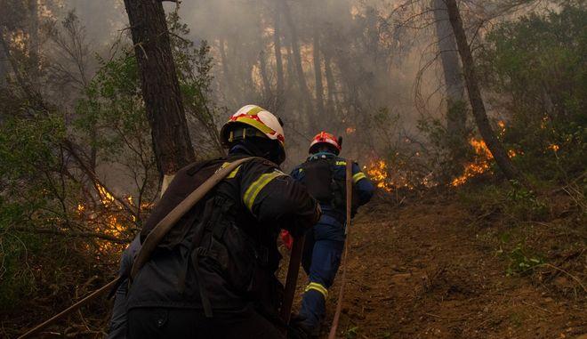 Κρήτη: Υπό έλεγχο οι φωτιές στις Κάτω Ασίτες και στο Γεράκι