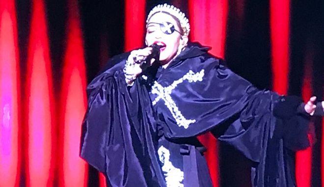 Eurovision 2019: Η Μαντόνα φάλτσαρε στην ιστορική της εμφάνιση στο Τελ Αβίβ