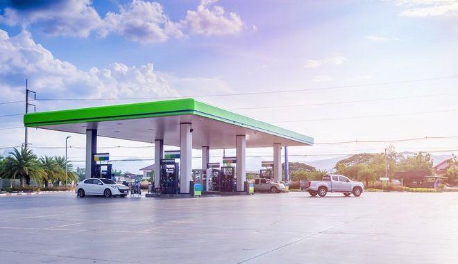 Πρατήριο καυσίμων με υγροποιημένο φυσικό αέριο (φωτογραφία αρχείου)