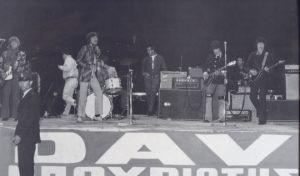 Οι Rolling Stones επί σκηνής, στις 17 Απριλίου του 1967 στη Λεωφόρο