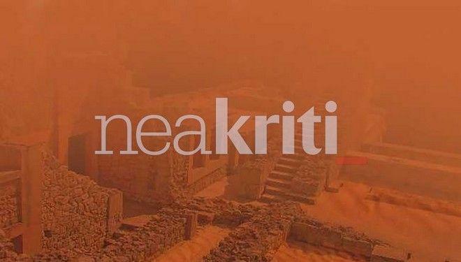 Η αφρικανική σκόνη κάλυψε την Κνωσό