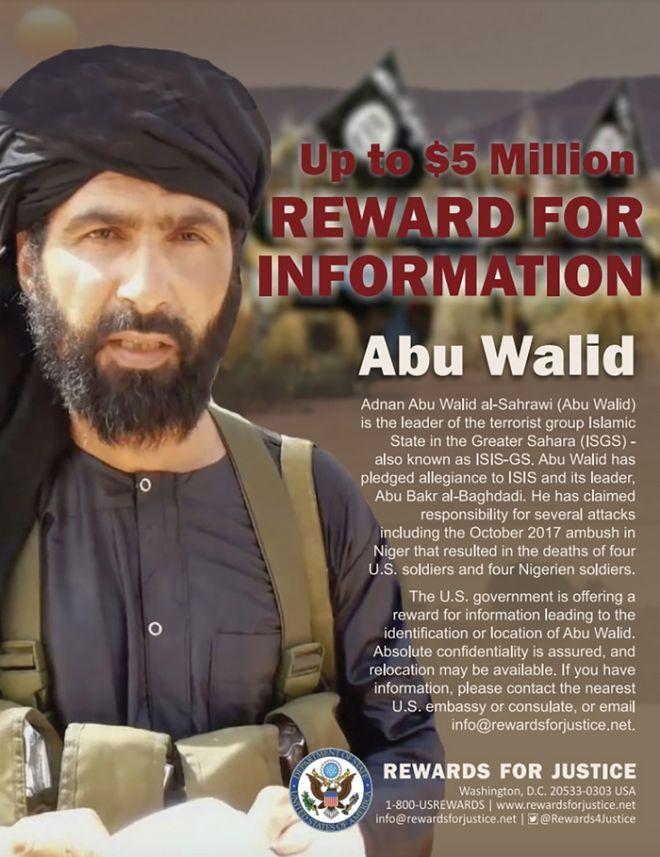 Ο ηγέτης του Ισλαμικού Κράτους, Άντναν Αμπού Ουάλιντ αλ Σαχράουι.