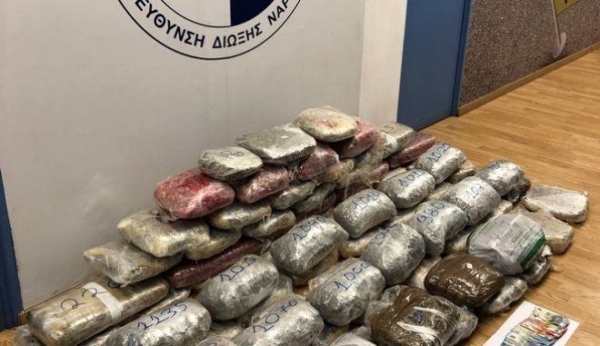 Εξαρθρώθηκε οργανωμένο κύκλωμα διακίνησης ναρκωτικών από την Αλβανία στην Ελλάδα