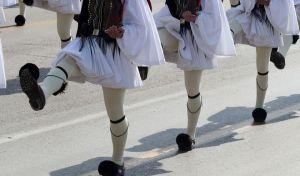 Στρατιωτική παρέλαση Ευζώνων