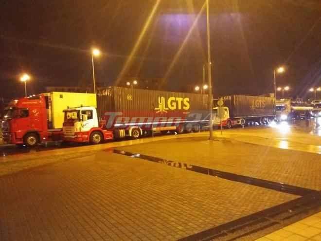 Ένταση στο λιμάνι της Πάτρας: Μετανάστες επιχείρησαν να μπουν σε νταλίκες
