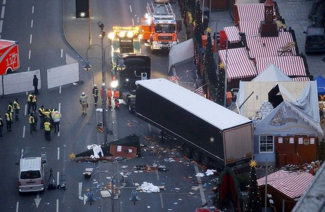 Ένας χρόνος από την τρομοκρατική επίθεση στο Βερολίνο