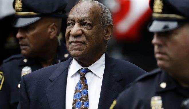 Ο Bill Cosby στην ακρόασή του 2018