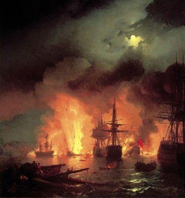 Μηχανή του Χρόνου: Ο Έλληνας πειρατής που διέλυσε τον τουρκικό στόλο μέσα στο Τσεσμέ, ανατινάζοντας το πλοίο του