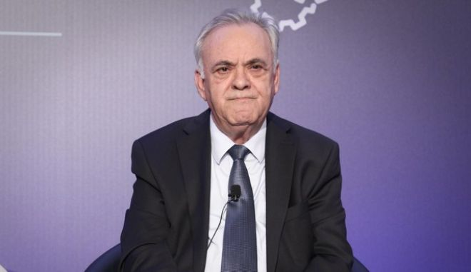 O αντιπρόεδρος της κυβέρνησης, Γιάννης Δραγασάκης