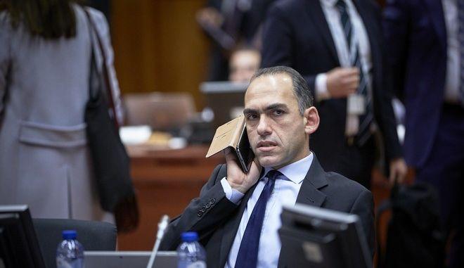 Ο υπουργός Οικονομικών της Κύπρου Χάρης Γεωργιάδης