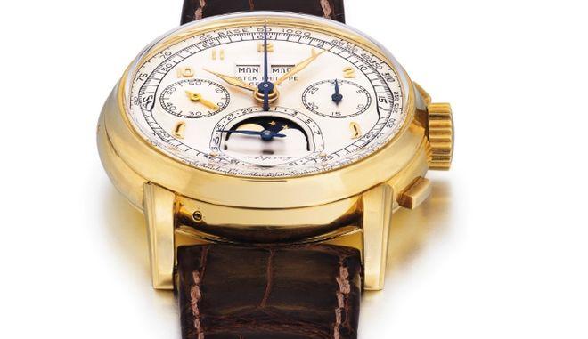 Το ρολόι που πωλήθηκε για 3,9 εκατ. δολάρια