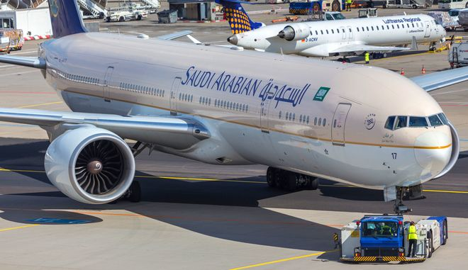 Αεροσκάφος της Saudia