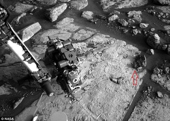 NASA: Το Curiosity ανακάλυψε σιδερένιο μετεωρίτη στον Άρη