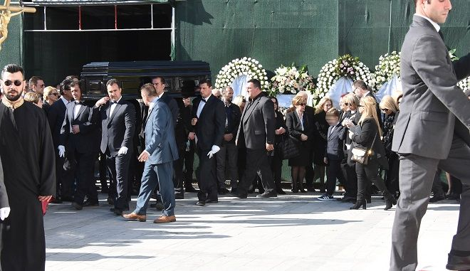 Κηδεία Βασίλη Λάσκαρη