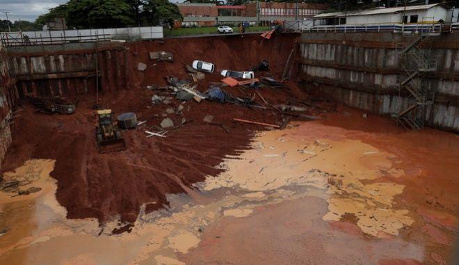 Καταστροφές στην Βραζιλία