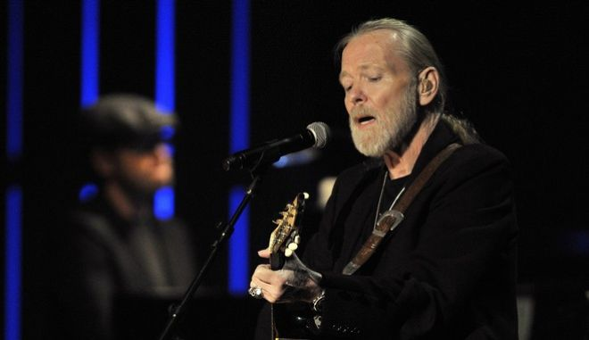 File- This Oct. 13, 2011, file photo shows Gregg Allman performing at the Americana Music Association awards show in Nashville, Tenn. Allman has canceled planned live shows until late October due to serious health issues. In a statement released Friday, Aug. 5, 2016, the  68-year-old Allman says hes currently under his doctors care at a facility. No more details were provided.(AP Photo/Joe Howell, File)